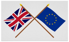 UK and European Flags